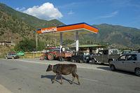 Tankstelle der Indian Oil Corporation