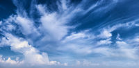 Beautiful daytime sky with clouds