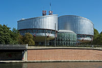 European Court of Human Rights building,Strasbour