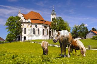 UNESCO Welterbe Wieskirche in Bayern