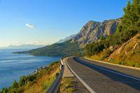 Kuestenstrasse Kroatien - coast road croatia 04