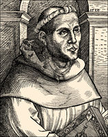 Martin Luther as a monk, 1483 - 1546