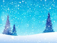 Snow theme background 5 - picture illustration.