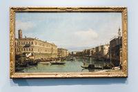 Canal Grande, Venice, Canaletto