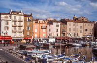Harbor and old town of Saint Tropez
