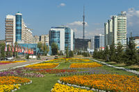 Al-Farabi Avenue, Almaty, Kazakhstan