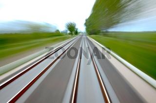 Rails blur