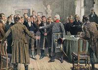 Graf Yorck von Wartenburg addressing the East Prussian Estates