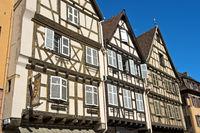 Fachwerkhäuser in der Altstadt von Colmar