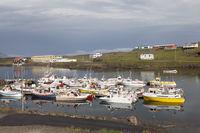 Harbour of Djúpivogur, Iceland