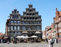 Lueneburg, stepped gables