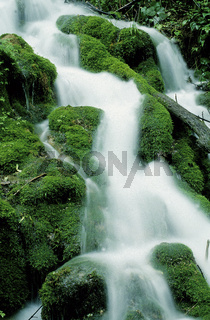 Wasserfall, Schwaebische Alb, Talheim, Wangenbach