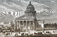 The Panthéon, Paris, France, 18th century