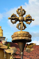 Bouddhist symbol Vajra