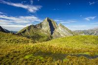 Südostseite der Höfats 2259m, Allgäuer Alpen, Allgäu, Bayern, Deutschland, Europa
