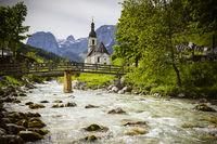 Ramsau near Berchtesgaden in Bavaria