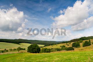 Sommer Landschaft Unterbodnitz
