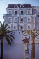 Fancy house painting in Nice
