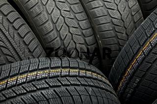 Tyres closeup