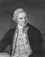 Captain James Cook, 1728 - 1779, British navigator and explorer