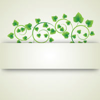 green leaves curls
