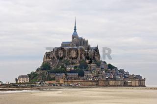 Mont St. Michel, Normandie, Frankreich