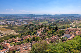 Small village and Roero area in Italy.