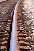 close up shot of a train track