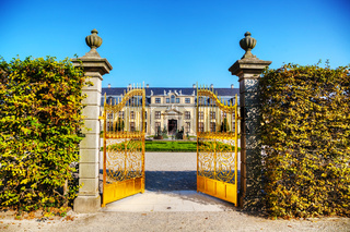 The Herrenhausen Gardens in Hanover, Germany