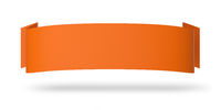 Werbeplakat Horizontal Orange