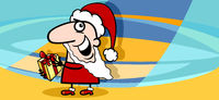 christmas greeting card cartoon