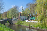 Friedrichstadt,North Frisia,Germany