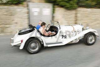 Südtirol Classic Cars_EXCALIBUR Roadster SS side