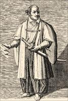 Hasekura Rokuemon Tsunenaga 1571 - 1622, Japanese samurai in diplomatic mission to the Vatican