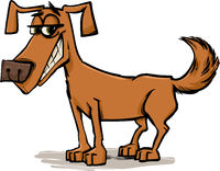 cute dog character sketch cartoon