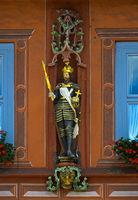 statue of a German emperor, Goslar,Germany