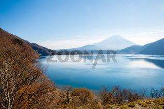 Mount Fuji at Motosu Japan