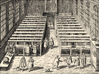 library of the University of Leiden, 17th century