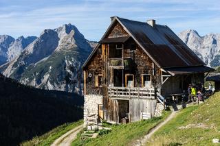 Plumsjochhütte im Karwendel