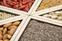 superfood tray abstract