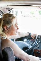 Woman Driving A Semi-Truck