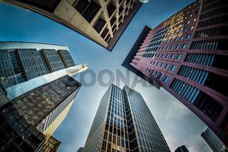 Skyscrapers of Frankfurt am Main, Germany
