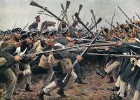 The battle of Hagelberg on 27.08.1813, Napoleonic, Wars