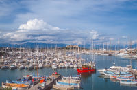 Marina of Antibes