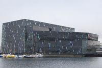 Concert hall Harpa in Reykjavik, Iceland