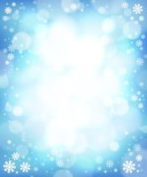 Winter theme background 4 - picture illustration.