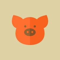 Pork. Food Flat Icon