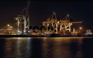 Kontainerhafen Hamburg