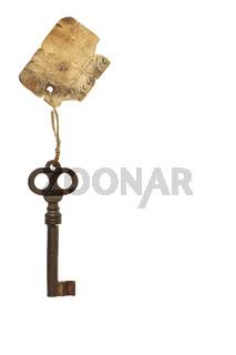 Antiker Schlüssel mit Anhänger
