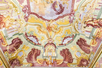Ceiling fresco, hall of myths